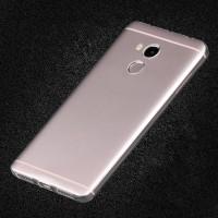 Силиконовый матовый транспарентный чехол для Xiaomi RedMi 4 Pro