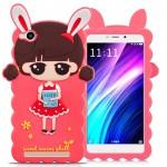 Силиконовый матовый непрозрачный дизайнерский фигурный чехол для Xiaomi RedMi 4A