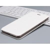 Чехол горизонтальная книжка подставка текстура Золото на силиконовой основе для Xiaomi RedMi 4A Белый