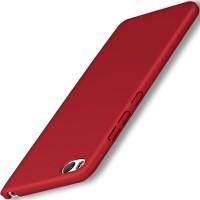 Пластиковый непрозрачный матовый чехол с улучшенной защитой элементов корпуса для Xiaomi RedMi 4A