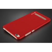 Пластиковый непрозрачный матовый чехол для Xiaomi RedMi 4A Красный