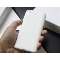 Силиконовый матовый непрозрачный чехол с нескользящим софт-тач покрытием для Xiaomi Mi5S Белый