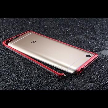 Металлический округлый премиум бампер на пряжке для Xiaomi Mi5S