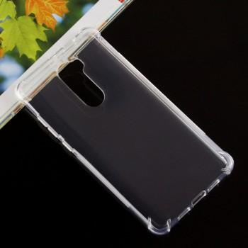 Силиконовый матовый транспарентный чехол с усиленными углами для Xiaomi Mi5S Plus