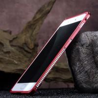 Металлический округлый премиум бампер на пряжке для Xiaomi Mi5S Plus