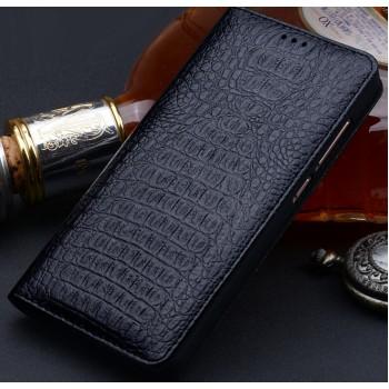 Кожаный чехол горизонтальная книжка (премиум нат. кожа крокодила) для Xiaomi Mi5S Plus