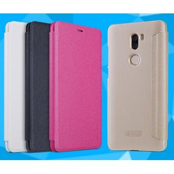 Чехол горизонтальная книжка на пластиковой нескользящей премиум основе для Xiaomi Mi5S Plus