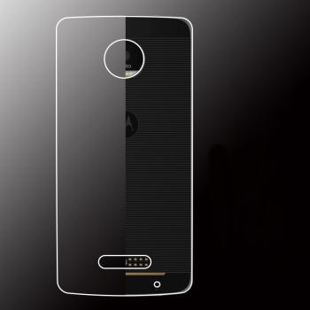 Силиконовый матовый транспарентный чехол для Lenovo Moto Z Play