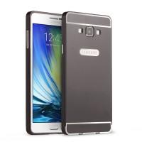 Двухкомпонентный чехол c металлическим бампером с поликарбонатной накладкой для Samsung Galaxy A7