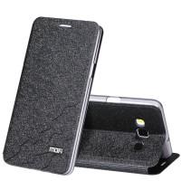 Чехол горизонтальная книжка подставка текстура Соты на силиконовой основе для Samsung Galaxy A7