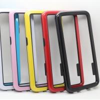 Бампер силиконовый двухцветный для Samsung Galaxy A7