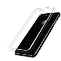 Силиконовый матовый транспарентный чехол для Iphone 7 Plus