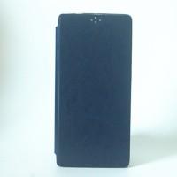 Глянцевый чехол горизонтальная книжка подставка на силиконовой основе для Lenovo Phab 2 Plus Синий