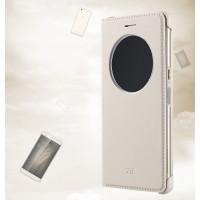 Оригинальный чехол флип на пластиковой основе с круглым окном вызова для ZTE Blade V7 Max