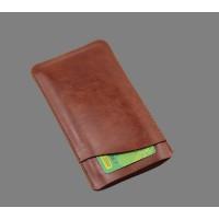 Кожаный мешок с отсеком для карт для Samsung Galaxy S7