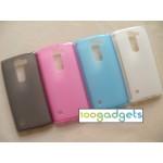 Силиконовый матовый полупрозрачный чехол для LG Spirit
