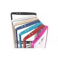 Металлический прямоугольный бампер на пряжке для LG G4