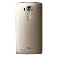 Оригинальная пластиковая встраиваемая матовая задняя крышка для LG G4 Бежевый