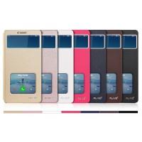 Чехол горизонтальная книжка подставка на пластиковой основе с окном вызова и свайпом для Xiaomi Mi Max