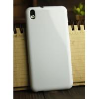 Силиконовый глянцевый непрозрачный чехол для HTC Desire 816