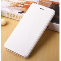 Чехол горизонтальная книжка подставка на пластиковой основе для Xiaomi RedMi 4A  Белый