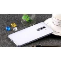 Силиконовый матовый полупрозрачный чехол для Huawei Honor 6X Белый