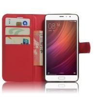 Чехол портмоне подставка на магнитной защелке для Xiaomi RedMi Pro  Красный