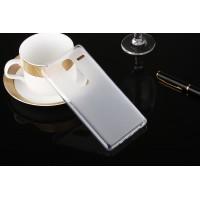 Силиконовый матовый полупрозрачный чехол для LG Class  Белый