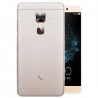 Силиконовый матовый полупрозрачный чехол для LeEco Le Max 2  Белый
