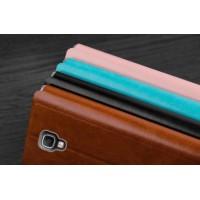 Чехол горизонтальная книжка подставка на силиконовой основе для Samsung Galaxy Note 3