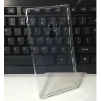 Силиконовый глянцевый транспарентный чехол для Xiaomi Mi Mix