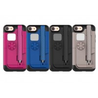 Пластиковый чехол со встроенным селфи-моноподом и зеркалом для Iphone 7