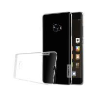 Силиконовый матовый полупрозрачный чехол с улучшенной защитой элементов корпуса (заглушки) для Xiaomi Mi Note 2