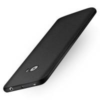Силиконовый матовый непрозрачный чехол с нескользящим софт-тач покрытием для Xiaomi Mi Note 2