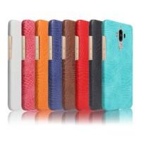 Чехол накладка текстурная отделка Кожа для Huawei Mate 9