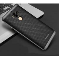 Силиконовый матовый непрозрачный чехол с текстурным покрытием Узоры для Huawei Mate 9