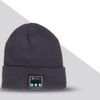 Шерстяная шапка дизайн Отворот с наушниками, микрофоном и функцией беспроводной bluetooth 3.0 стерео гарнитуры