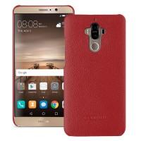 Кожаный чехол накладка (премиум нат. кожа) для Huawei Mate 9