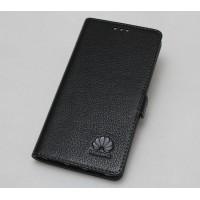 Кожаный чехол горизонтальная книжка с крепежной застежкой для Huawei Mate 9 Pro