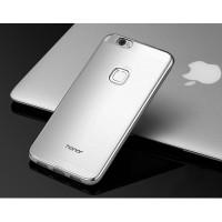 Силиконовый глянцевый полупрозрачный чехол для Huawei Honor Note 8