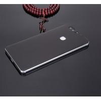 Экстратонкая клеевая кожаная накладка для Huawei Honor Note 8