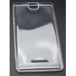 Силиконовый глянцевый полупрозрачный чехол для Acer Iconia Talk S A1-734