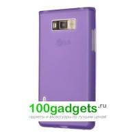 Чехол силиконовый для LG Optimus L7 P705 Фиолетовый