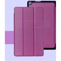Чехол флип подставка сегментарный на поликарбонатной основе для ASUS ZenPad 8 Фиолетовый