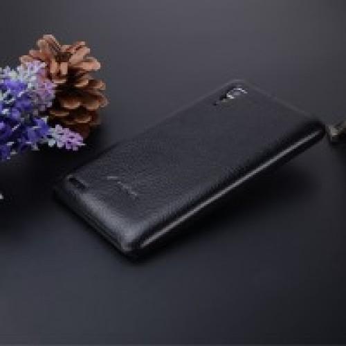 Кожаный чехол накладка серия Back Cover для Lenovo P780