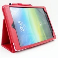 Чехол подставка с рамочной защитой экрана для Xiaomi MiPad Красный