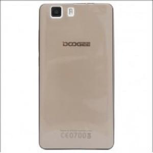 Силиконовый матовый полупрозрачный чехол для Doogee X5