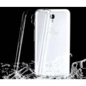 Пластиковый транспарентный чехол для Alcatel OneTouch Pop 2 (4.5)