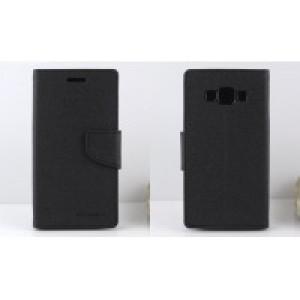Текстурный чехол портмоне подставка на силиконовой основе с дизайнерской застежкой для Samsung Galaxy J3 (2016) Черный