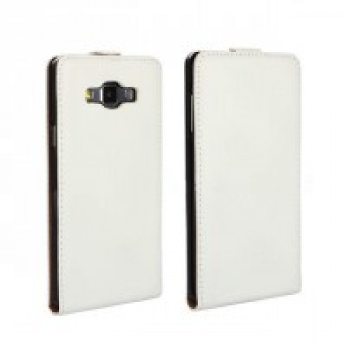 Чехол вертикальная книжка на пластиковой основе с магнитной застежкой для Samsung Galaxy A3